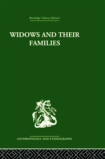 Widows and their families book cover