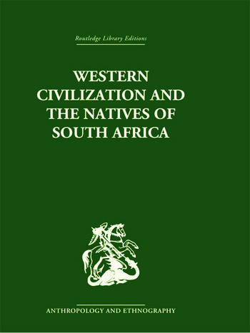 Western Civilization in Southern Africa Studies in Culture Contact book cover