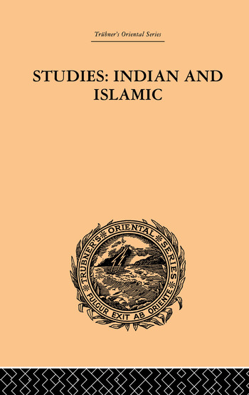 Studies: Indian and Islamic book cover