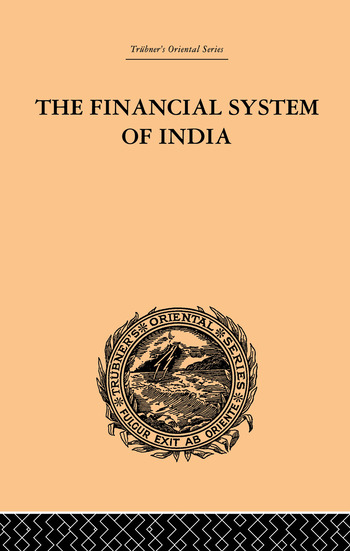 The Financial Systems of India book cover