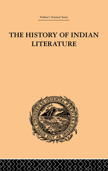 The History of Indian Literature book cover