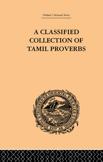 A Classical Collection of Tamil Proverbs book cover