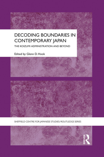 Decoding Boundaries in Contemporary Japan The Koizumi Administration and Beyond book cover