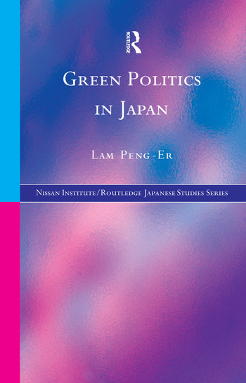 Green Politics in Japan book cover