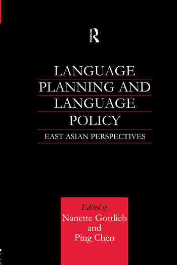 Language Planning and Language Policy East Asian Perspectives book cover