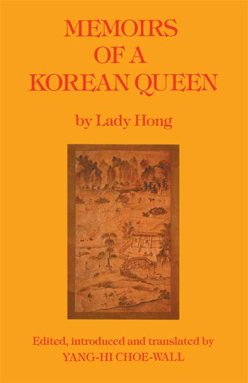 Memoirs Of A Korean Queen book cover