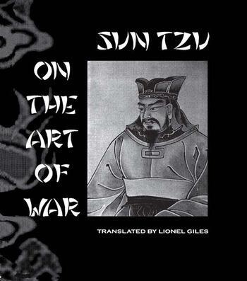 Sun Tzu On The Art Of War book cover