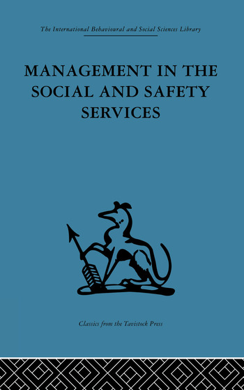 Management in the Social and Safety Services book cover