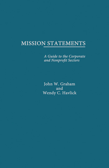 Mission Statements book cover