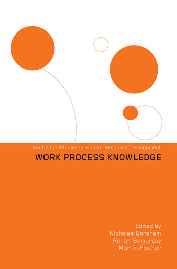 Work Process Knowledge book cover