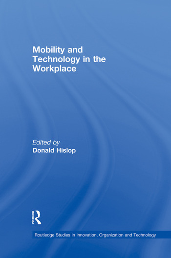 Mobility and Technology in the Workplace book cover