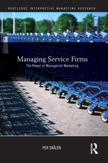 Managing Service Firms The Power of Managerial Marketing book cover