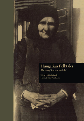 Hungarian Folktales The Art of Zsuzsanna Palk- book cover