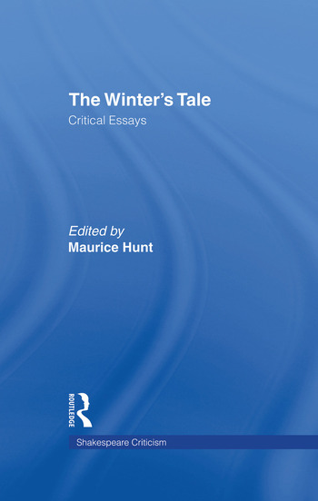 The Winter's Tale Critical Essays book cover