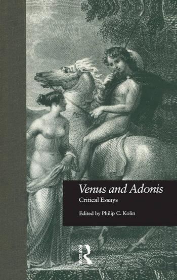 Venus and Adonis Critical Essays book cover