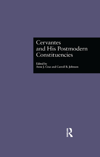 Cervantes and His Postmodern Constituencies book cover