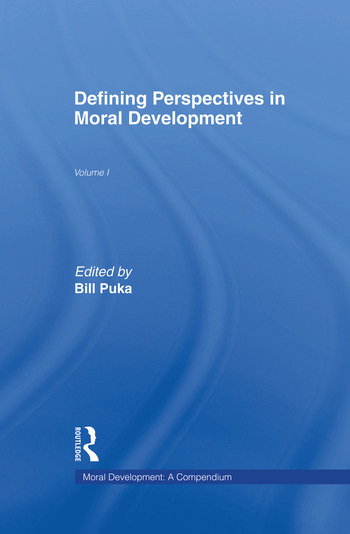 Defining Perspectives in Moral Development book cover