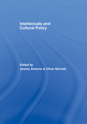 Intellectuals and Cultural Policy book cover