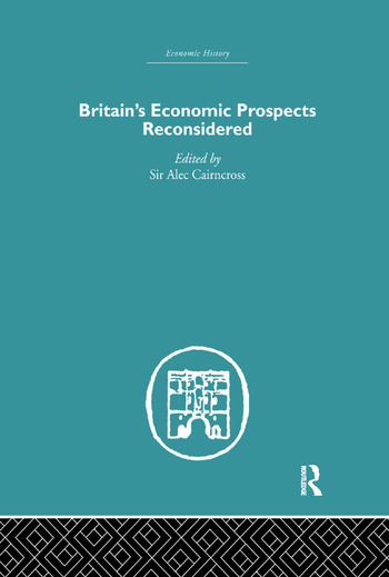 Britain's Economic Prospects Reconsidered book cover