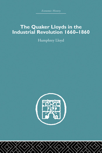 Quaker Lloyds in the Industrial Revolution book cover