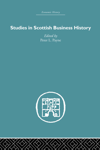 Studies in Scottish Business History book cover