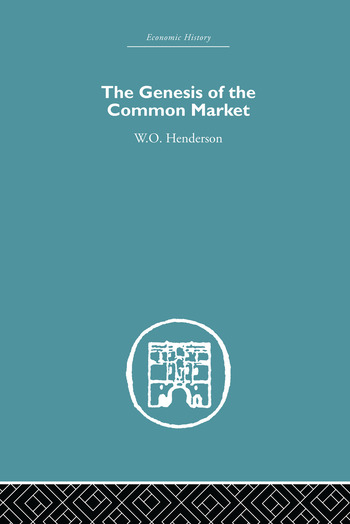Genesis of the Common Market book cover