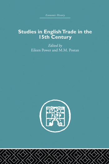 Studies in English Trade in the 15th Century book cover