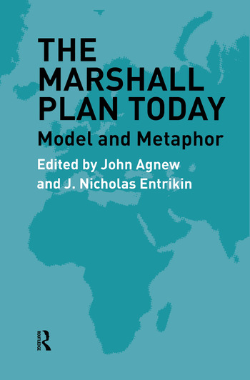 The Marshall Plan Today Model and Metaphor book cover