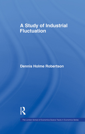 Study Indust Fluctuations Lse book cover