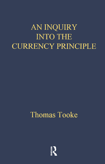 Inquiry Into Currency Prin Lse book cover