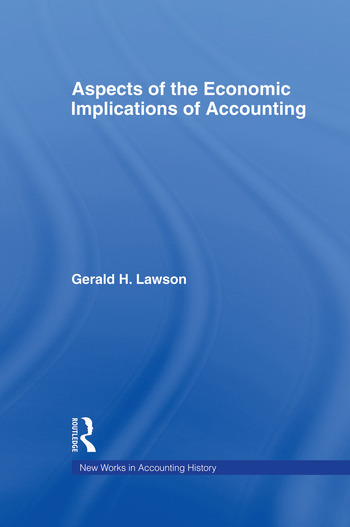 Aspects of the Economic Implications of Accounting book cover