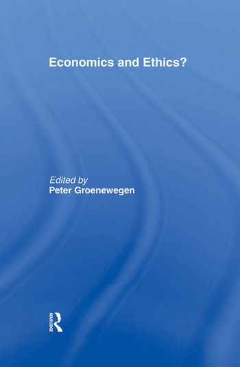 Economics and Ethics? book cover