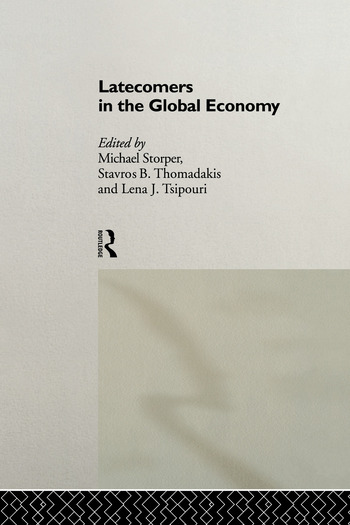 Latecomers in the Global Economy book cover