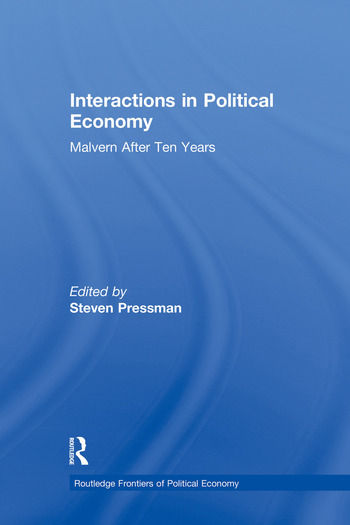 Interactions in Political Economy Malvern After Ten Years book cover