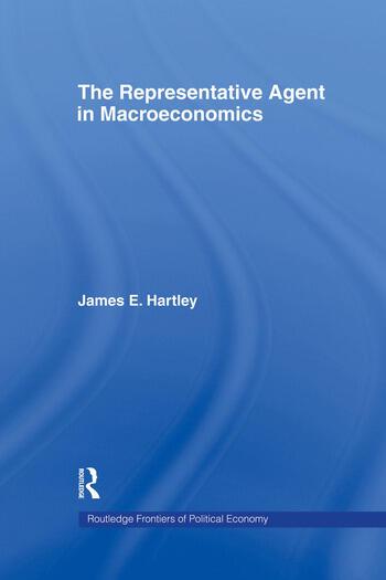 The Representative Agent in Macroeconomics book cover