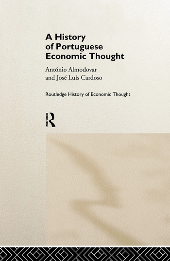A History of Portuguese Economic Thought book cover