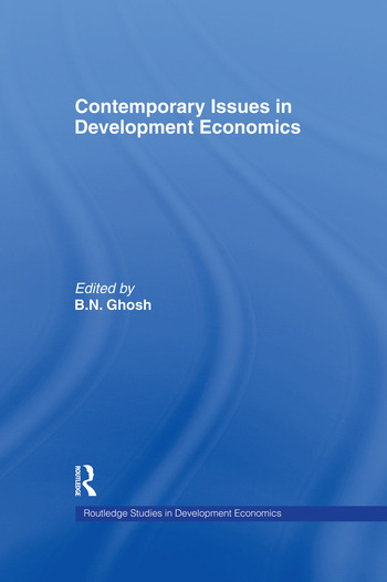 Contemporary Issues in Development Economics book cover