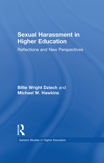 Sexual Harassment and Higher Education Reflections and New Perspectives book cover