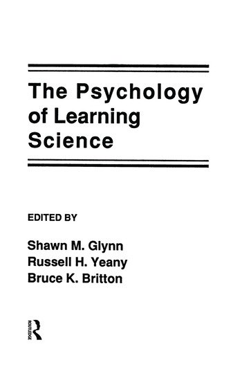 The Psychology of Learning Science book cover