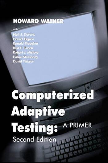 Computerized Adaptive Testing A Primer book cover