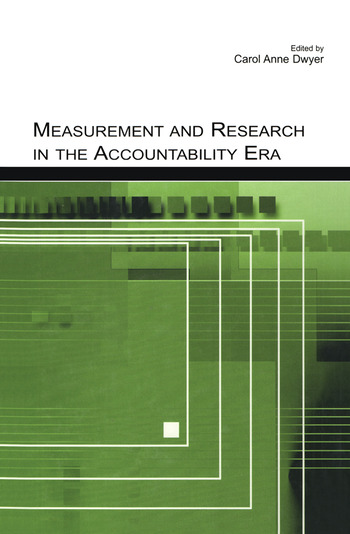 Measurement and Research in the Accountability Era book cover