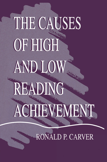 The Causes of High and Low Reading Achievement book cover