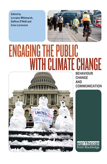 Engaging the Public with Climate Change Behaviour Change and Communication book cover
