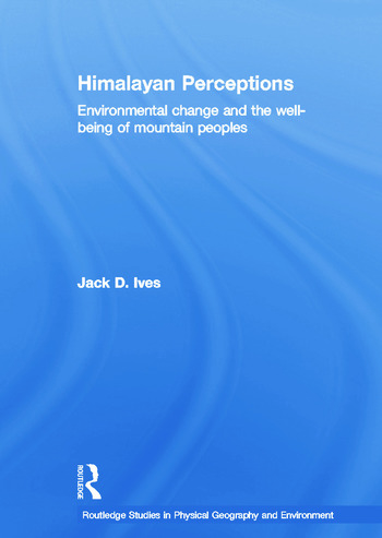 Himalayan Perceptions Environmental Change and the Well-Being of Mountain Peoples book cover