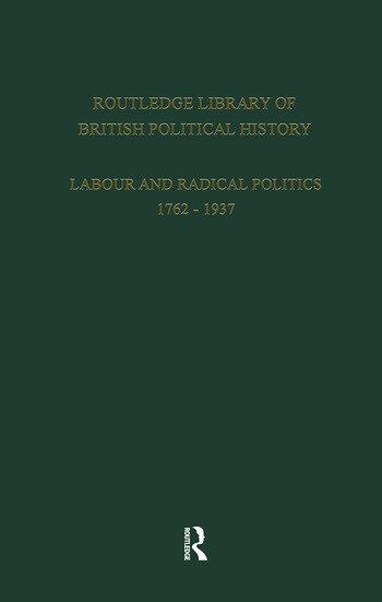 English Radicalism (1935-1961) Volume 1 book cover