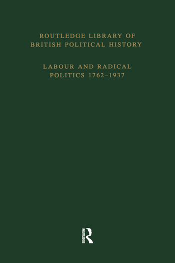 English Radicalism (1935-1961) Volume 4 book cover