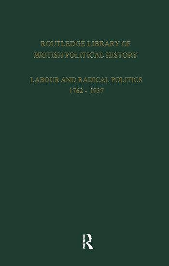 English Radicalism (1935-1961) Volume 6 book cover