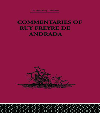 Commentaries of Ruy Freyre de Andrada book cover