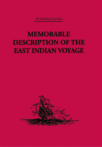Memorable Description of the East Indian Voyage 1618-25 book cover