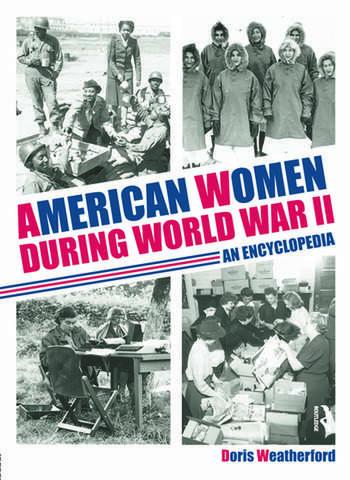 American Women during World War II An Encyclopedia book cover